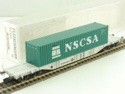 Fleischmann 5255 K Containertragwagen NSCSA DB KKK NEU OVP ME