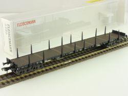Fleischmann 5286 Rungenwagen Flachwagen Rs 684 DB NEU OVP ME