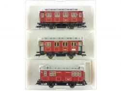 Fleischmann 3x Bergheimer Lokalbahn BLB 5057 5058 5059 01 K  OVP ME