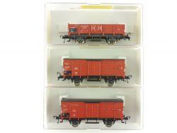 Fleischmann 3x Güterwagen Reichsbahn DRG 5360 5208 NEU OVP ME
