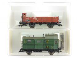 Fleischmann 2x Güterwagen DRG Reichsbahn 5209 5302 K NEU KKK OVP ME