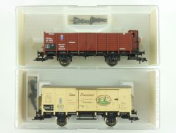 Fleischmann 2x Güterwagen Bayern 5863 5865 KBayStsB NEU  OVP ME