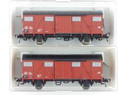 Fleischmann Konvolut 2x 5330 gedeckter Güterwagen DB NEU  OVP ME