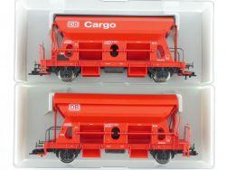 Fleischmann 2x Selbstentladewagen 5515 5517 K DB Cargo NEU! OVP ME