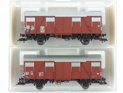 Fleischmann 2x Güterwagen 5314 5318 K Schlusslicht KKK NEU! OVP ME