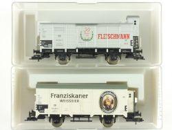 Fleischmann 2x Sondermodelle 87 5346 82 5365 K KKK DB NEU OVP ME