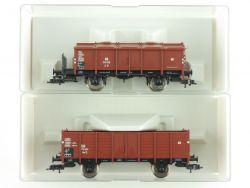 Fleischmann 2x Güterwagen Klappdeckel 5910 5915 K KKK DB NEU OVP ME
