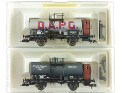 Fleischmann 2x Kesselwagen 5847 5848 K KKK Länderbahn NEU OVP ME