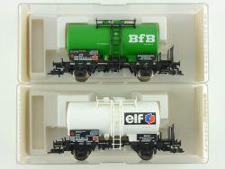 Fleischmann 2x Kesselwagen BFB ELF 5418 5419 K KKK DB NEU OVP ME