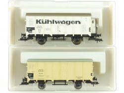 Fleischmann 2x Güterwagen Kühlwagen 5346 5349 K KKK DRG NEU OVP ME