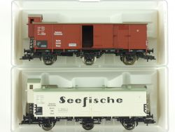 Fleischmann 2x Güterwagen Reichsbahn 5380 5381 K KKK DRG NEU OVP ME