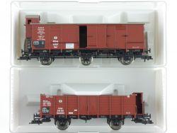 Fleischmann 2x Güterwagen Preußen KPEV 5885 5855 K KKK NEU OVP ME