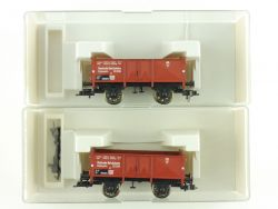 Fleischmann 2x 5211 K offener Güterwagen KKK DRG NEU OVP ME