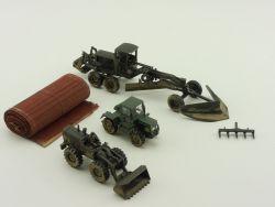 Wiking/Umex Konvolut Caterpillar Traktor Radlader