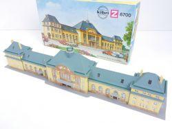 Kibri 6700 Bahnhof Bad Nauheim Spur Z gebaut für mini-club OVP