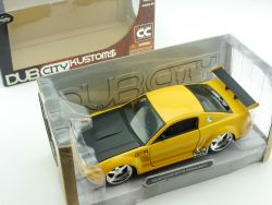 Jada Toys 90366 Ford Mustang GT R Concept Gelb Dub City 1:24 OVP