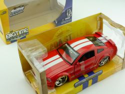 Jada Toys 90659 Ford Mustang GT Rot Bigtime Muscle 1:24 OVP