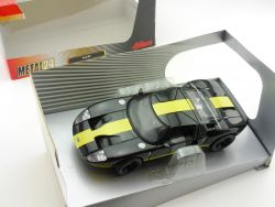 Schuco 403331014 Metal24 Ford GT black yellow stripes 1:24 OVP