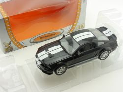 Road Signature 24208 2007 Shelby GT 500 Schwarz 1:24 OVP
