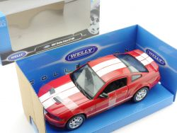Welly 224763W Ford Shelby Cobra GT 500 2007 Rot 1:24 OVP