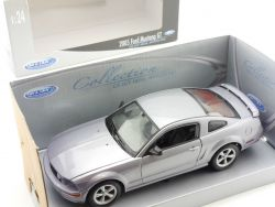 Welly 22464 2005 Ford Mustang GT Silber 1:24 Modellauto OVP