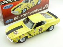 Welly 12527 Ford Mustang Trans Am 1970 George Follmer OVP