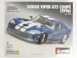 Bburago 5530 Dodge Viper GTS Coupe 1993 MetalKit 1:24 sealed OVP