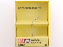 Brawa 4800 Peitschenleuchte Modell-Leuchte Spur Z OVP