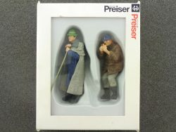 Preiser 45116 Schäfer Bauer Figuren für LGB Modellbahn NEU! OVP