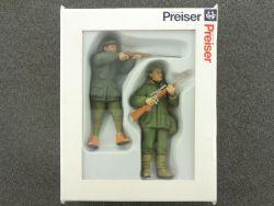 Preiser 45135 Jäger stehend Figuren Modellbahn LGB NEU OVP