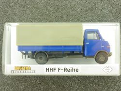Brekina 37502 Hanomag Henschel HHF F-Reihe 55 Pritsche Plane OVP