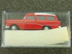 Brekina 20020 Opel Rekord P 1 Caravan Kombi rot 1:87 OVP