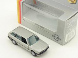 Gama 1169 mini BMW 325i E30 Touring Silber Diecast 1:43 OVP