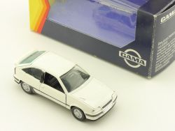 Gama 1196 Opel Kadett GSi Weiss 1:43 Modellauto frühe OVP
