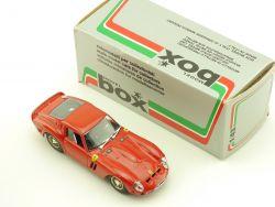 Model Box 8401 Ferrari GTO 62 ROT 1962 Modellauto 1:43 MIB OVP