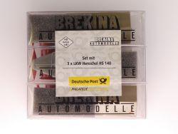 Brekina 018059 Set 3x Henschel HS 140 Dt. Post Philatelie NEU OVP