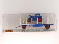 Brekina 39352 Lanz Zirkus Busch Circus Anhänger Traktor NEU! OVP