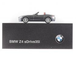Herpa BMW Z4 sDrive35i E89 Werbemodell 1:87 Dealer Box  OVP