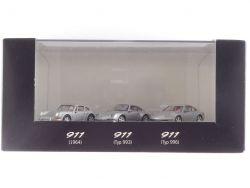 Herpa WAP022BOX Porsche 911 1964 993 996 Werbemodelle 1:87 OVP