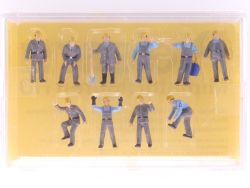 Preiser 0220 THW-Helfer Figuren-Set Katastrophenschutz 1:87 OVP