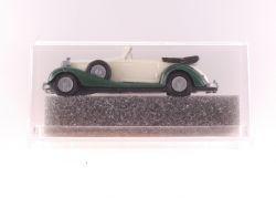 Vollmer 1605 Carline Horch Cabrio offen weiß grün H0 1:87 OVP