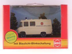 Busch 5611 MB L406 Wiking Modell m. Blaulicht-Blinkschaltung OVP