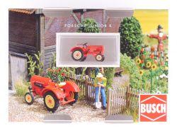 Busch 50000 Porsche Traktor Junior K rot Schlepper 1:87 neu OVP