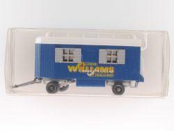 Wiking Mannschaftswagen Anhänger Circus Zirkus Williams
