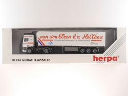 Herpa 142304 DAF van den Elzen Holland Sattelzug SZ LKW OVP
