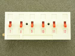 Arnold 7260 Universal-Schaltpult Kippschalter Modellbahn N