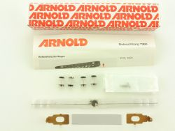 Arnold 7365 Wagen Beleuchtung Modellbahn N mit Radsätzen  OVP