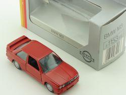 Gama 1153 mini BMW M3 E 30 Rot Modellauto 1:43 OVP