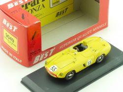 Best 9046 Ferrari 750 Monza SPA 55 #33 Scaglietti 1:43 Model OVP