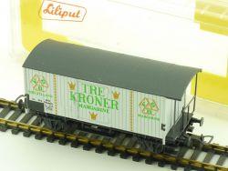 Liliput 248 63 Güterwagen Tre Kroner Margarine HHJ DSB DK OVP